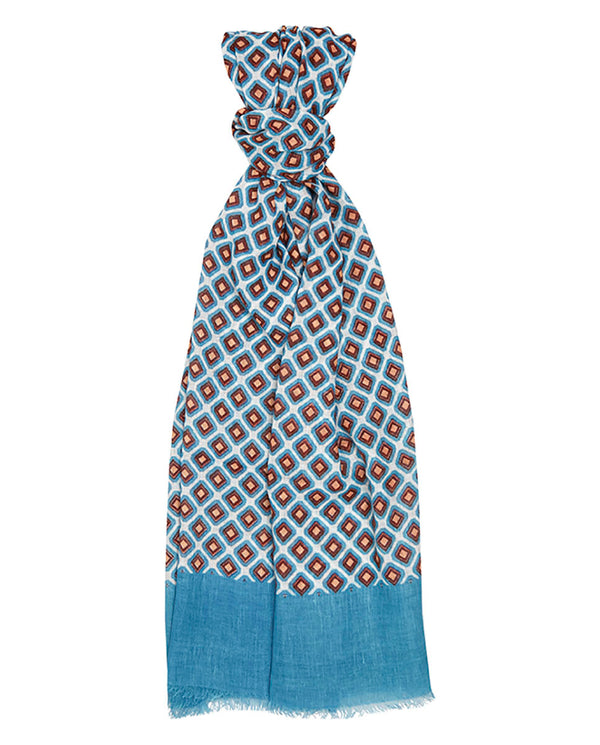 FOULARD ESTAMPADO GEOMETRICO by MIRTO