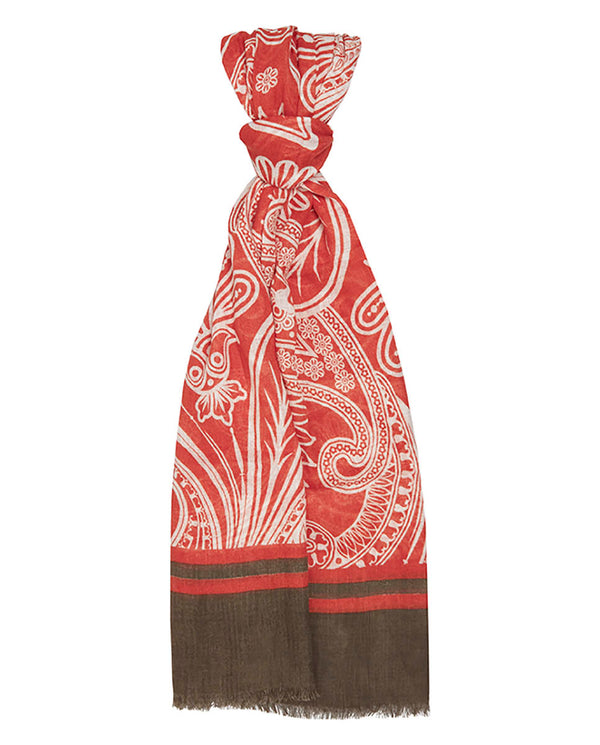FOULARD ESTAMPADO PAISLEY by MIRTO