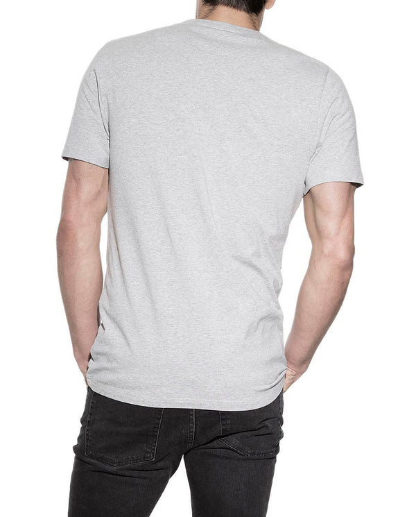 CREW-NECK GREY MELANGE by MIRTO