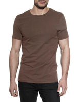 CREW-NECK BROWN by MIRTO