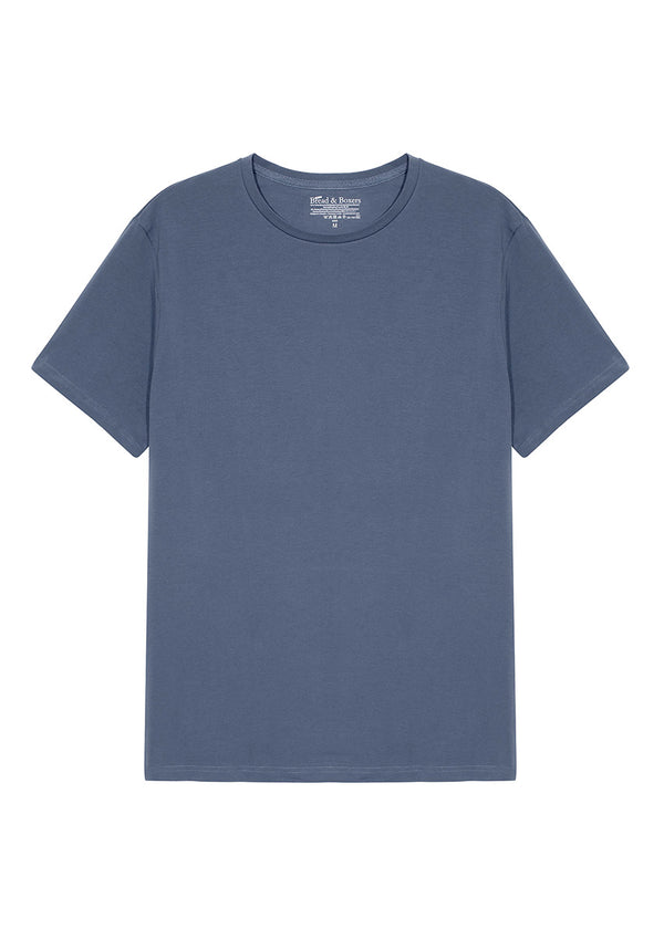 CREW-NECK SEA BLUE by MIRTO
