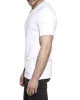 V-NECK WHITE by MIRTO