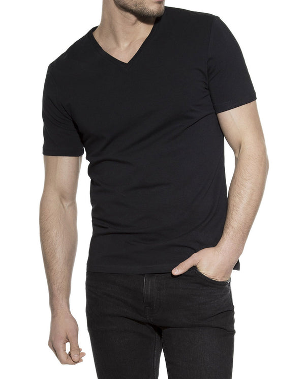 V-NECK BLACK by MIRTO