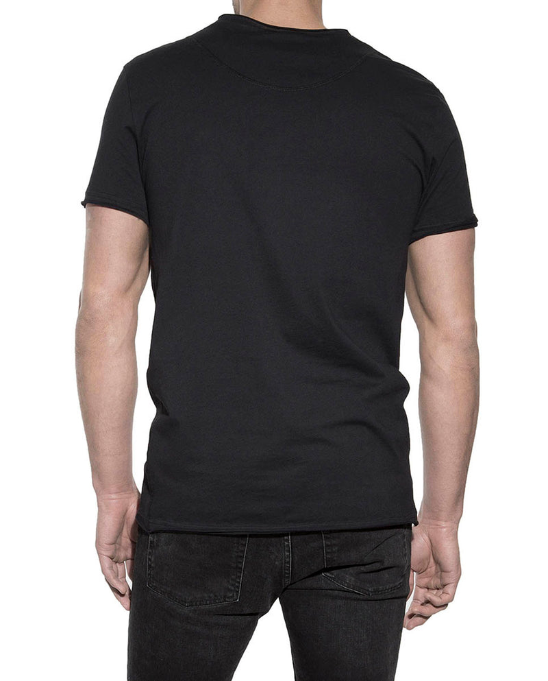 CREW-NECK RELAXED BLACK by MIRTO
