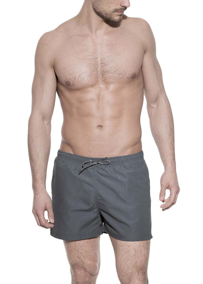 SWIM TRUNK STEEL GREY by MIRTO