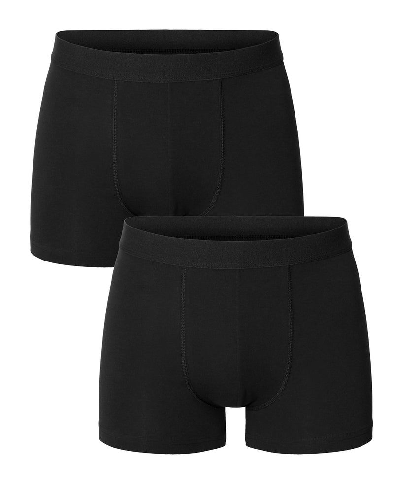 PACK 2 BOXERS MODAL ELASTICO ECO NEGROS by MIRTO
