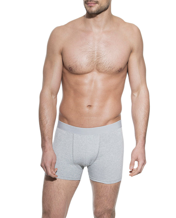 3-PACK BOXER BRIEF GREY MELANGE by MIRTO