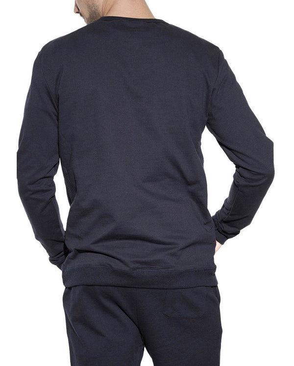 SWEATSHIRT DARK NAVY by MIRTO