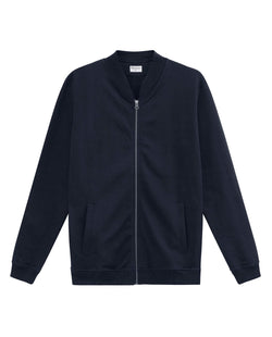 JERSEY JACKET DARK NAVY by MIRTO