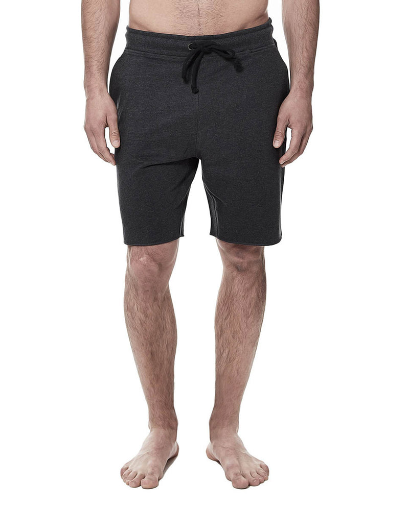 LOUNGE SHORT DARK GREY MELANGE by MIRTO