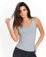 TANK GREY MELANGE by MIRTO