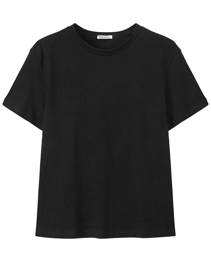 SB T-SHIRT CLASSIC BLACK by MIRTO