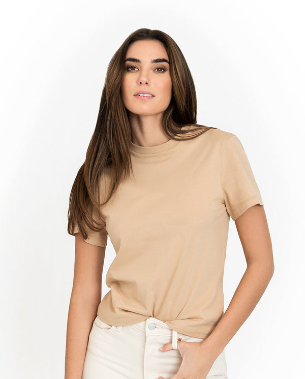 SB T-SHIRT CLASSIC BEIGE by MIRTO