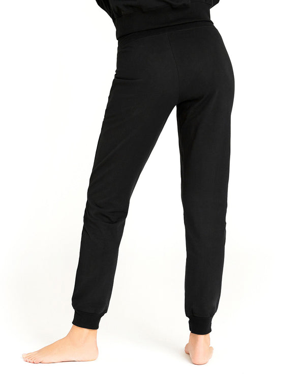 SB LOUNGE PANT BLACK by MIRTO