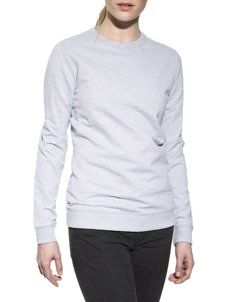SWEATSHIRT GREY MELANGE by MIRTO