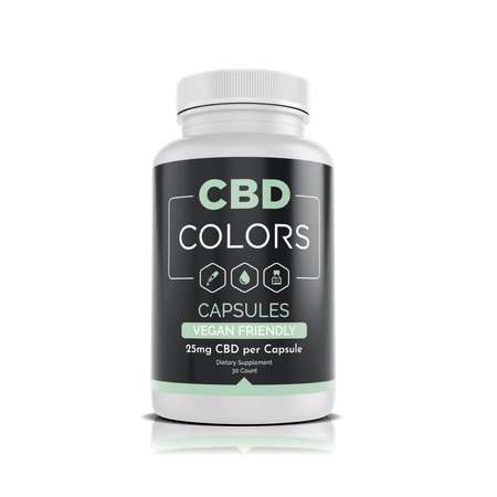 CBD Capsules - cbd-colors-shop