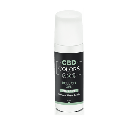 CBD Pain Relief Roll-On Gel - cbd-colors-shop