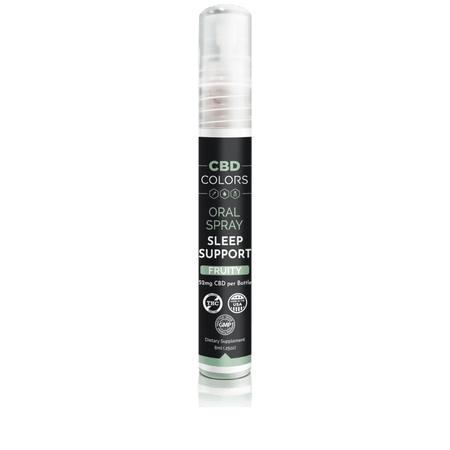 Sleep Support Oral Spray with Hemp - cbd-colors-shop
