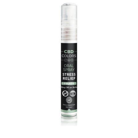 CBD Stress Relief Oral Spray - cbd-colors-shop