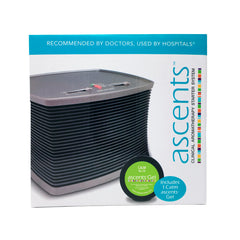 ascents calm essential oil gel and aromatherapy diffuser system