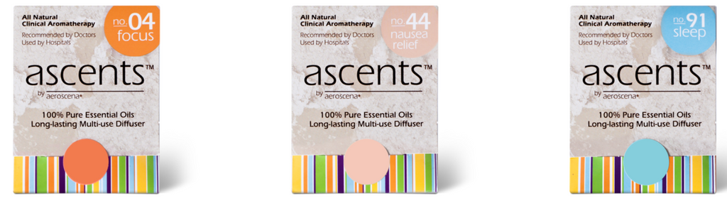 Ascents® Personal Aromatherapy Inhalers