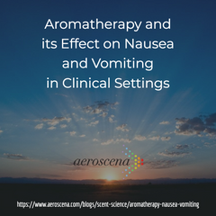 aromatherapy for nausea and vomiting