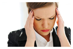 Woman Looking Stressed and Anxious
