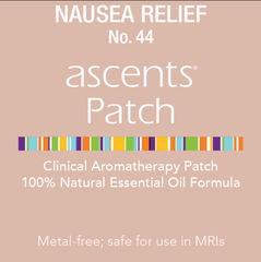 nausea relief aromatherapy patch by ascents