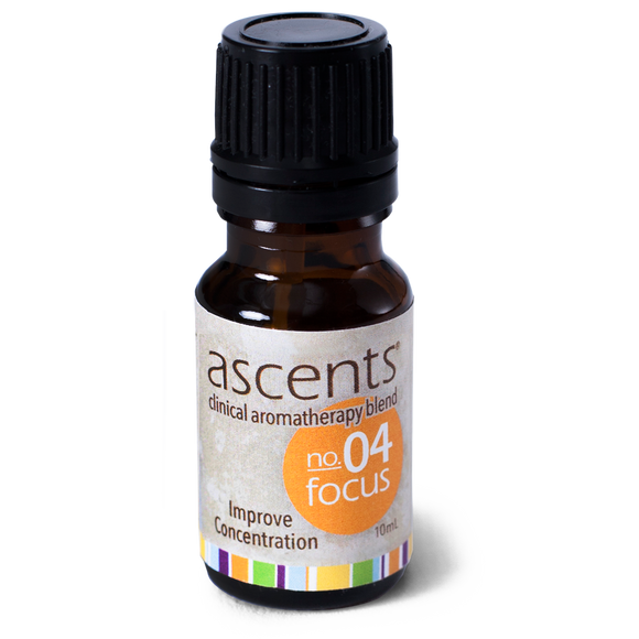 Focus Essential Oil Formula for Concentration (10 ml) | Aromatherapy for Focus