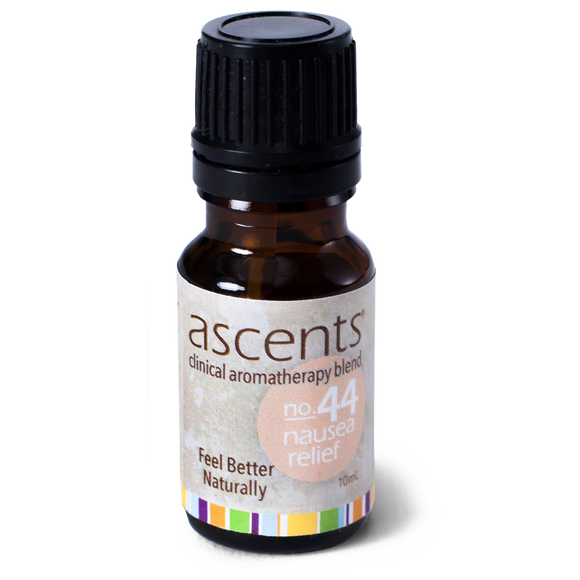 Nausea Relief Essential Oil Formula (10 ml) | Aromatherapy for Queasiness