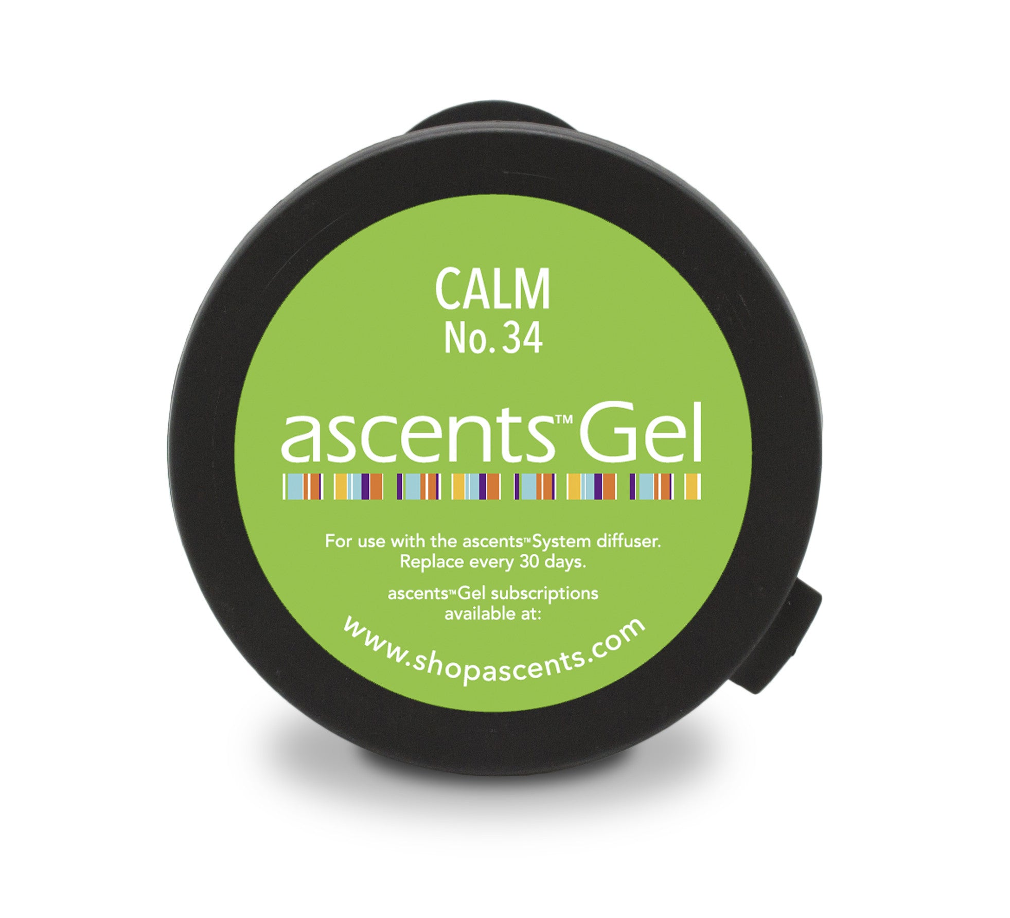 Calm No. 34 Ascents® Solid Essential Oil Gel