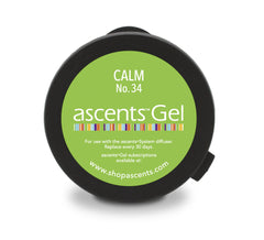Ascents Clinical Aromatherapy Solid Essential Oil Gel for Stress and Anxiety