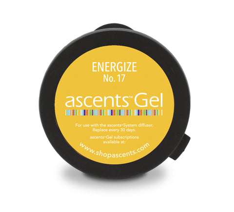 Essential Oil Gel for Enhanced Energy & Mood | Energize No. 17