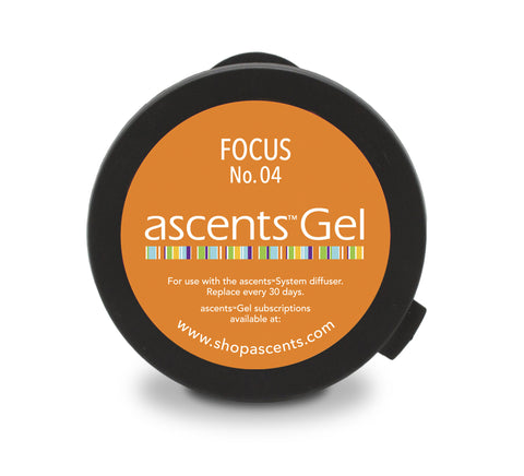 Focus No. 04 Ascents® Solid Essential Oil Gel