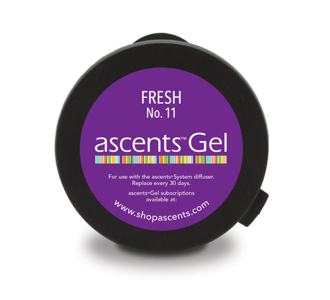 Fresh No. 11 Ascents™ Gel Refill Clinical Aromatherapy
