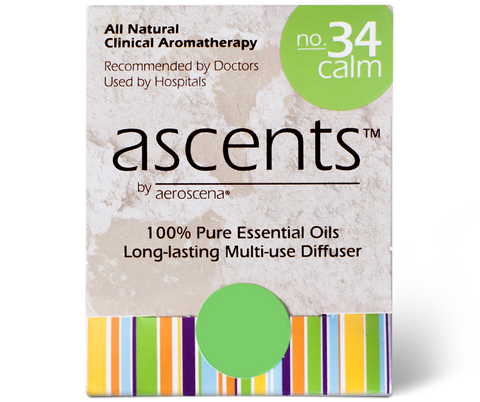 Calm No. 34 Essential Oil Inhaler Ascents™ Clinical Aromatherapy