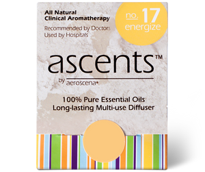 Energize No. 17 Essential Oil Nasal Inhaler | Aromatherapy for Energy