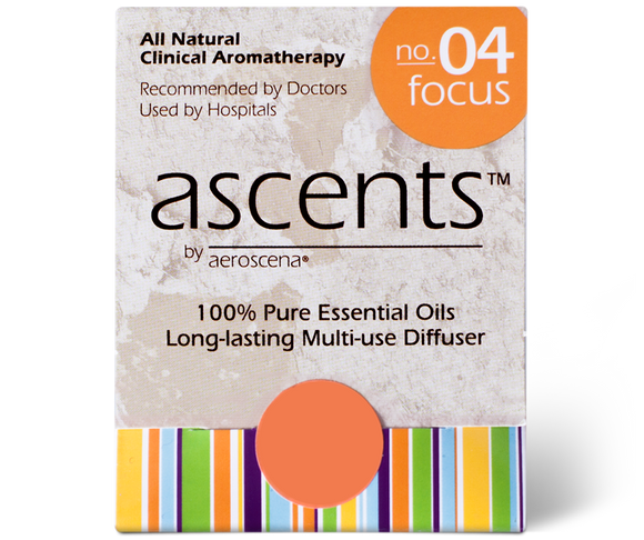 Focus No. 04 Essential Oil Nasal Inhaler for Concentration | Aromatherapy