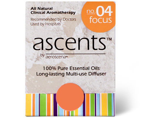 Focus No. 04 Ascents® Essential Oil Inhaler