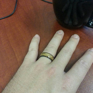 wooden ring jewelry
