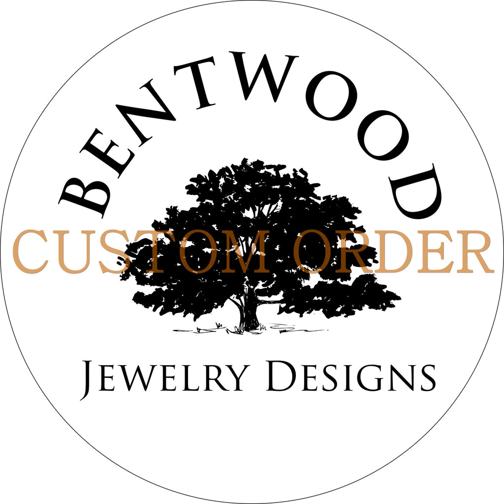 Custom Order - Kristin W. handcrafted bentwood wooden rings wood wedding ring engagement