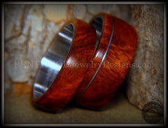 burl wood rings
