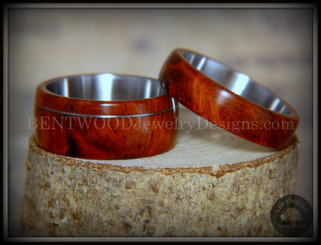 Amboyna wood ring