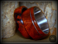 amboyna wood rings