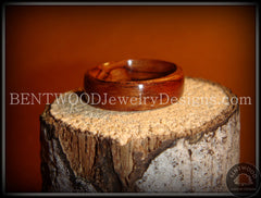 Bentwood Ring - Bubinga Wood Ring - Bentwood Jewelry Designs - Custom Handcrafted Bentwood Wood Rings  - 2