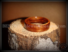 Bentwood Ring - Bubinga Wood Ring - Bentwood Jewelry Designs - Custom Handcrafted Bentwood Wood Rings  - 4