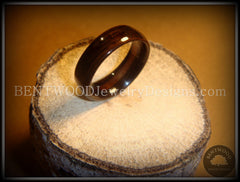 Bentwood Rings - Macassar Ebony Wood Ring - Bentwood Jewelry Designs - Custom Handcrafted Bentwood Wood Rings  - 2