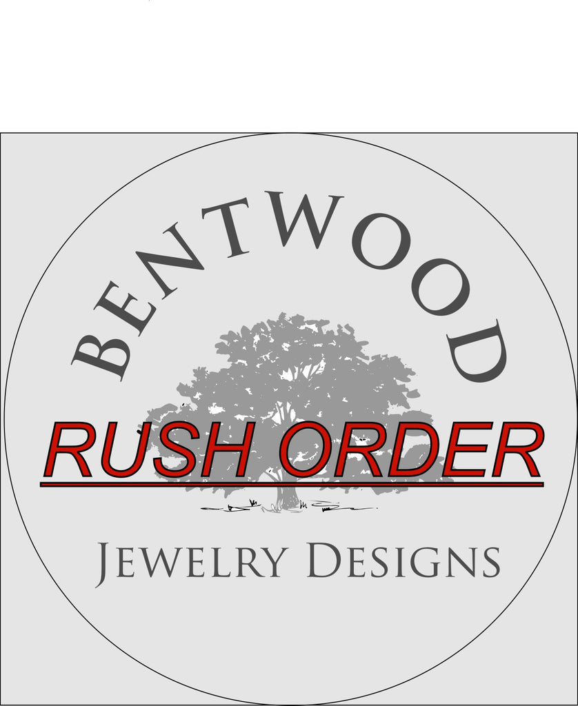 Rush Order - 3 Day Completion - Bentwood Jewelry Designs - Custom Handcrafted Bentwood Wood Rings