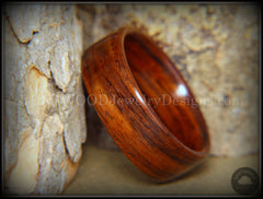Bentwood Ring - Kingwood Classic Wood Ring handcrafted bentwood wooden rings wood wedding ring engagement