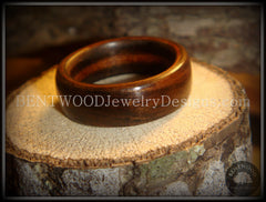 Bentwood Ring - Macassar Ebony Classic Wood Ring - Bentwood Jewelry Designs - Custom Handcrafted Bentwood Wood Rings